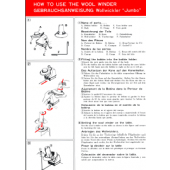 Brother Jumbo Woolwinder User Manual