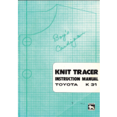 Toyota K31 Knit Tracer Manual