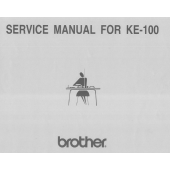 Brother KE100 Service Manual