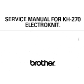 Brother KH270Service Manual