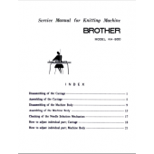 Brother KH800 Service Manual