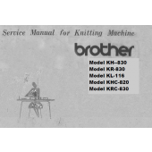 Brother KH830-KR830-KL116-KHC820-KHC830-Service Manual
