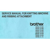 Brother KH864-KH868-KH894-KR830-KR838-KR850-KL116 Service Manual