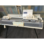 Brother KH970 Knitting Machine and KR900 Ribber for sale