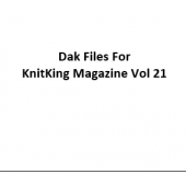 KnitKing Vol 21 Files for Designaknit