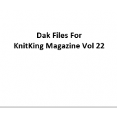 KnitKing Vol 22 Files for Designaknit