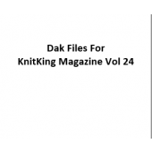 KnitKing Vol 24 Files for Designaknit