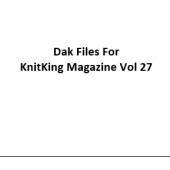 KnitKing Vol 27 Files for Designaknit