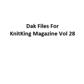KnitKing Vol 28 Files for Designaknit