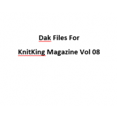 KnitKing Vol 08 Files for Designaknit