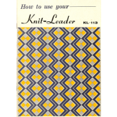 Brother KL113 Knitleader User Guide