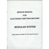 Electrinic Knitting Machine Service Manual