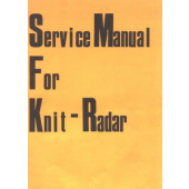 KnitRadar Knitting Machine Service Manual
