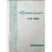 Empisal KR90 Ribber User Guide