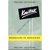 Knittax S User Manual