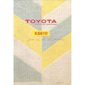 Toyota KS610 Knitting Machine User Manual