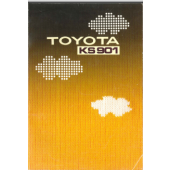 Toyota KS901 Knitting Machine User Manual