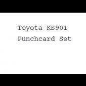 Toyota KS901 Punchcard Set