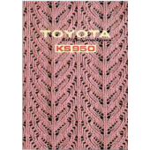 Toyota KS950 Knitting Machine User Manual