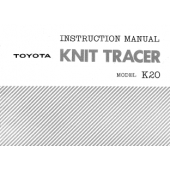 Toyota K20 Knitracer Manual
