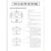 LK150 Fair Isle Carriage User Manual