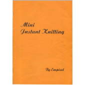Empisal Mini Instant Knitter Instruction Book