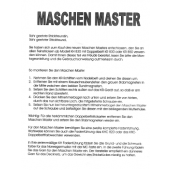 Maschen Master Attachment User Guide