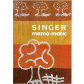 Singer Memomatic Instruction Manual
