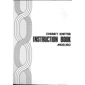 Mod 150 Chunky Knitter Knitting Machine Instruction Manual