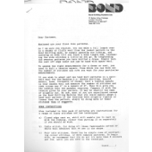 Bond newsletter