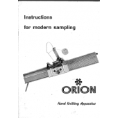 Orion Instructions for Modern Sampling