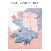 Passap Club - Design No. 13 Baby Gifts Pattern Book