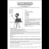 Hague PDB250 electric wool winder manual