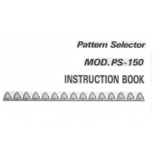 PS150 Needle Selector User Manual