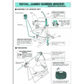 Brother Royal Jumbo Bobbin Winder User Manual