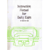 Bulky Eight S-120/S-140 Knitting Machine Instruction Manual