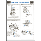 How to Use Skein Holder User Manual