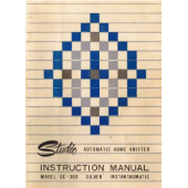 Silver Reed SK 303 Knitting Machine Instruction Manual