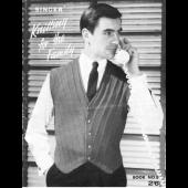 SINGER Knitting For The Family Pattern Book 8