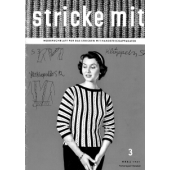 Stricke Mit 3-1957 Machine Knitting Magazine