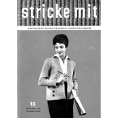 Stricke Mit 1957-10 Machine Knitting Magazine