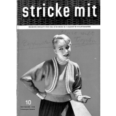 Stricke Mit 10-1956 Machine Knitting Magazine