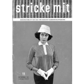 Stricke Mit 1957-11 Machine Knitting Magazine