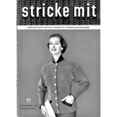 Stricke Mit 11-1956 Machine Knitting Magazine