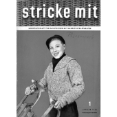 Stricke Mit 1-1956 Machine Knitting Magazine