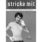 Stricke Mit 2-1956 Machine Knitting Magazine