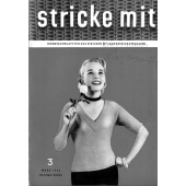 Stricke Mit 3-1956 Machine Knitting Magazine