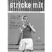 Stricke Mit 1957-07 Machine Knitting Magazine