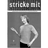 Stricke Mit 7-1956 Machine Knitting Magazine