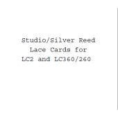 Studio-Silver Reed Lace Punchcards for LC2 and LC360-260